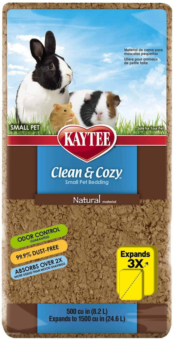 Kaytee Clean & Cozy Small Animal Bedding Natural 24.6L