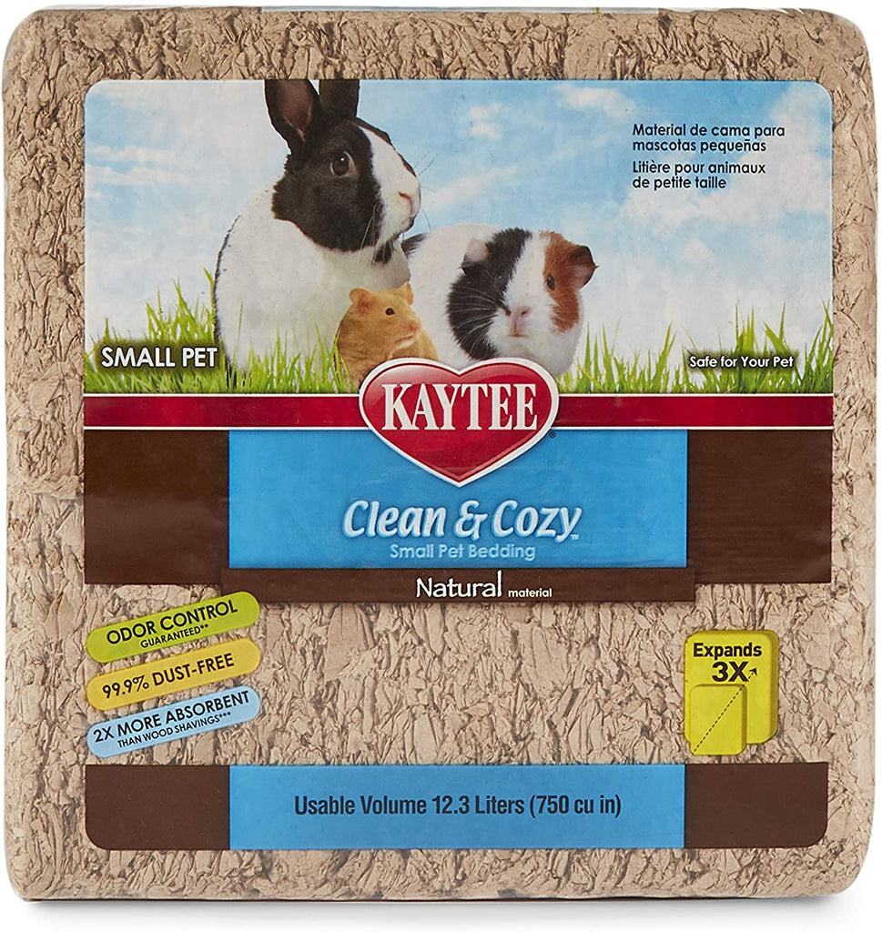 Kaytee Clean & Cozy Small Animal Bedding Natural 12.3L