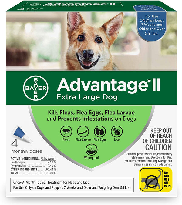 Advantage II Dog 55+ Blue 4d