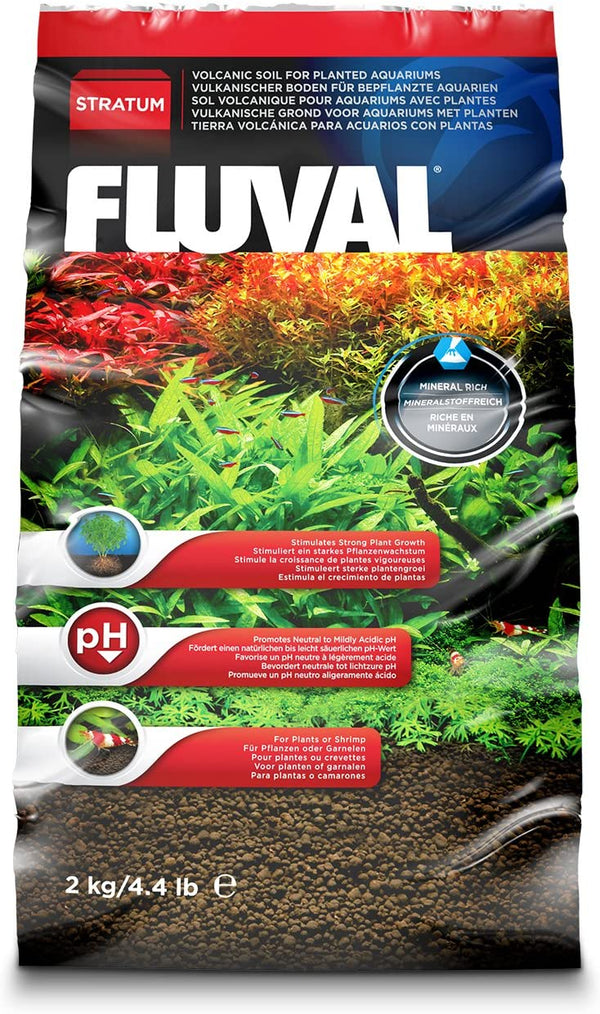 Fluval Plant and Shrimp Stratum Aquarium Substrate 4.4lb