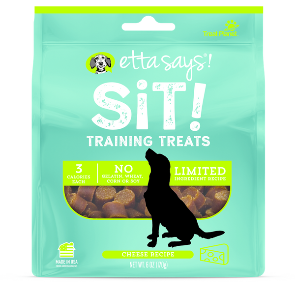 Etta Says Sit! Training Treats Cheese Recipe 6oz