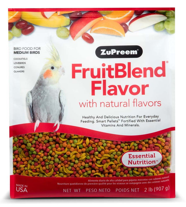 ZuPreem FruitBlend Flavorr Medium 2lb