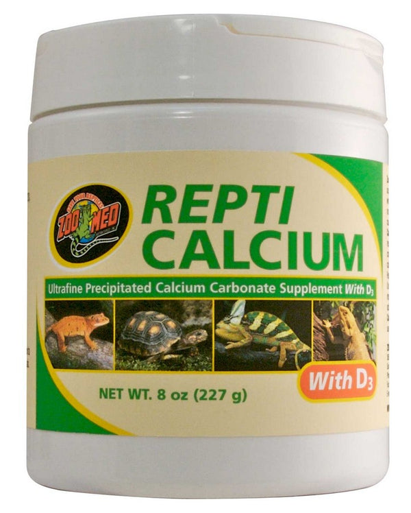 Zoo Med Repti Calcium With D3 - 8 oz
