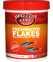 Omega One Freshwater Flakes 2.2oz
