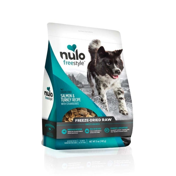 Nulo FreeStyle Freeze Dried Raw Grain Free Salmon Dog Food 5oz