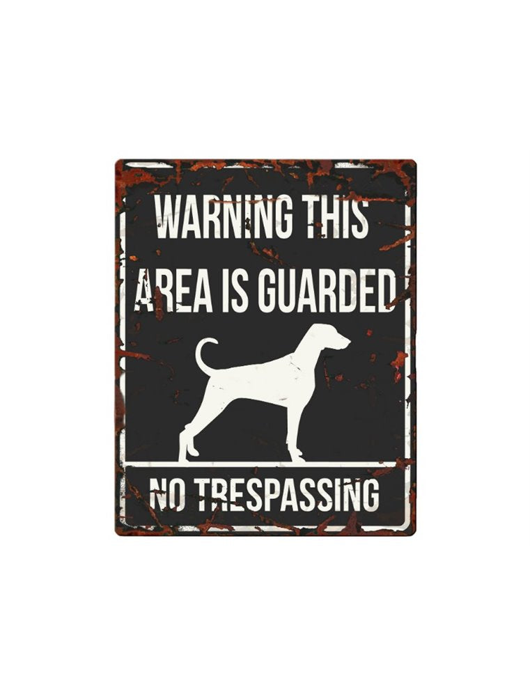 Warning Sign Dalmatian