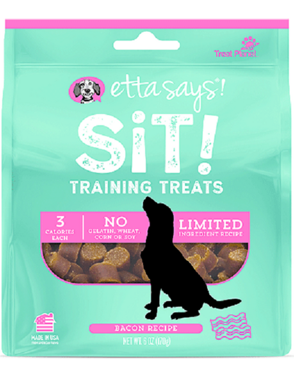 Etta Says Sit! Training Treats Bacon Recipe 6oz