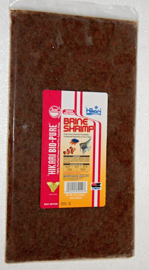 Brine Shrimp Flat 32 oz