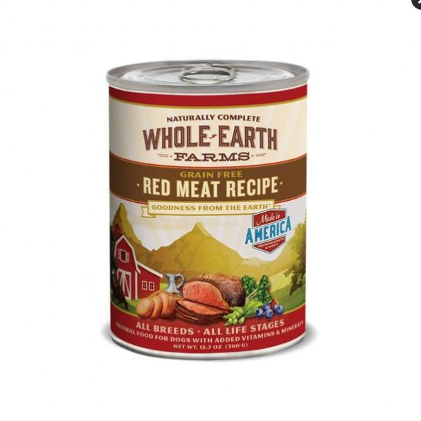 MER Whole Earth Red Meat 12.7