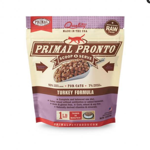 Primal Cat Pronto Turkey 1Lb