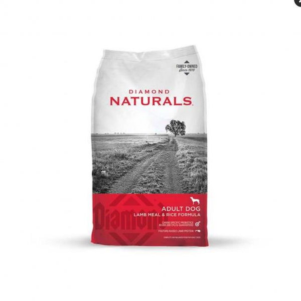 Diamond Naturals Lamb Rice Dog 40lb