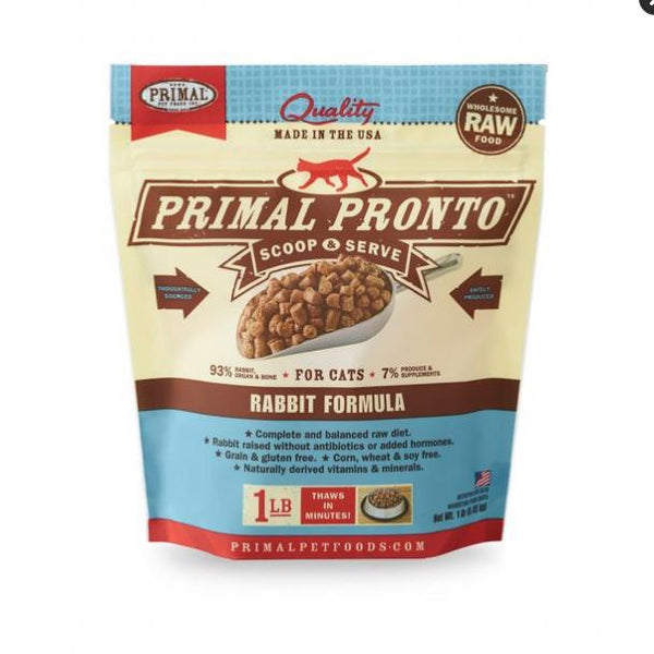 Primal Cat Pronto Rabbit 1Lb