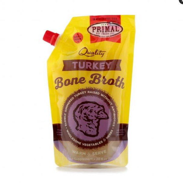 Primal Bone Broth 20oz Turkey