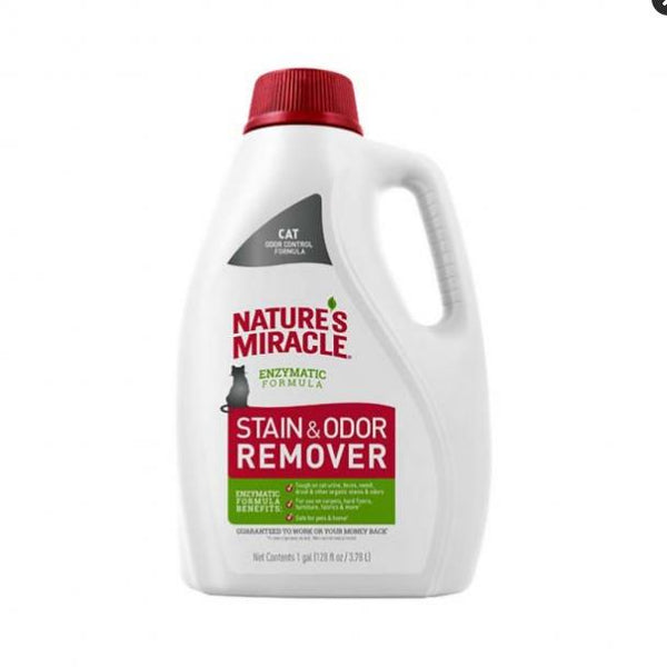 Nature's Miracle Just for Cats  Stain and Odor Remover Pour 128z