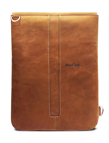 custom leather iPad Pro 12.9 sleeve by MacCase