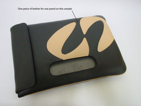 Early concept of MacCase leather MacBook Pro case