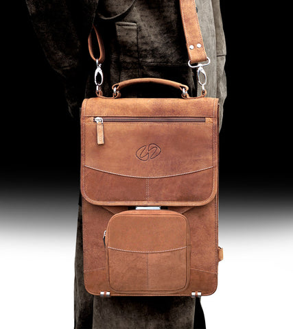 The MacCase Premium Leather Flight Briefcase