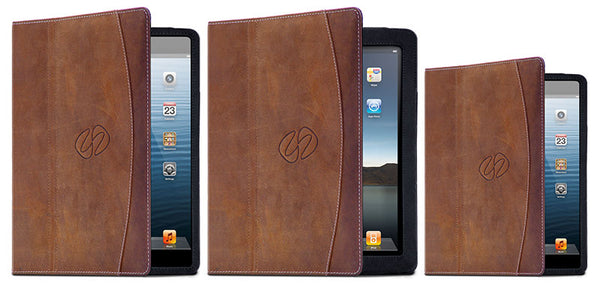the best leather ipad cases - 3 generations of MacCase Premium Leather Folios