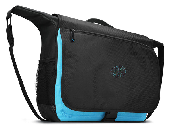Front quarter view of The MacCase Universal Messenger Bags