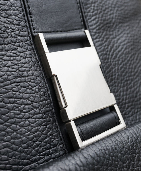 detail of maccsse flight jacket buckle