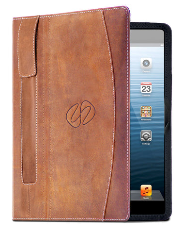The leather iPad Pro 9.7 Folio case by MacCase