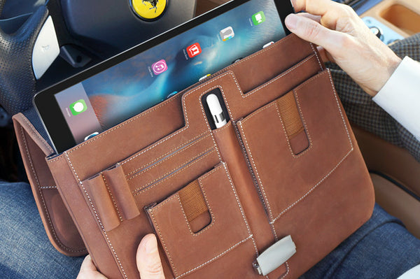 Leather iPad Pro 12.9 Briefcase by MacCase