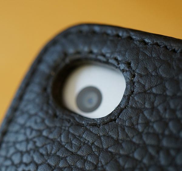 Camera detail from the new MacCase Premium Leather iPad Air 2 Folio Cases