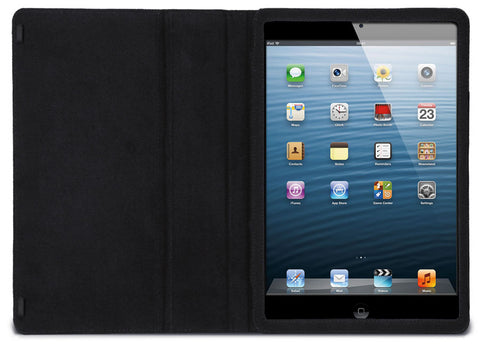 Interior view of the MacCase Premium Leather iPad case