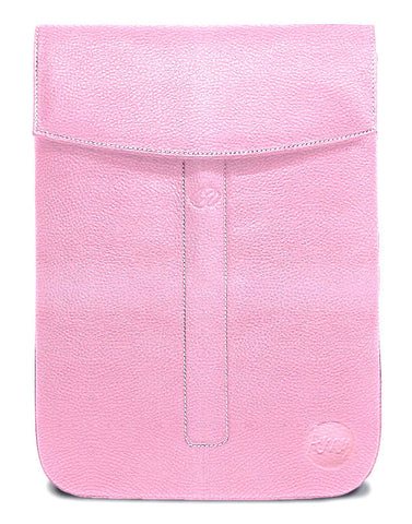 Custom Premium Leather iPad Pro Sleeve in Pink by MacCase