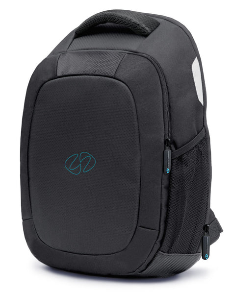 The front view of the new MacCase lightweight laptop backpack