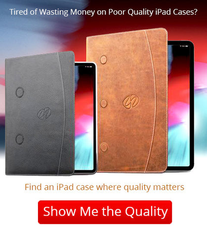 finding the best leather ipad case