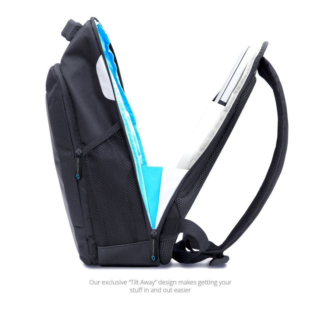 The Tilt Away design is one of the many features of the 15 MacBook Pro Backpack