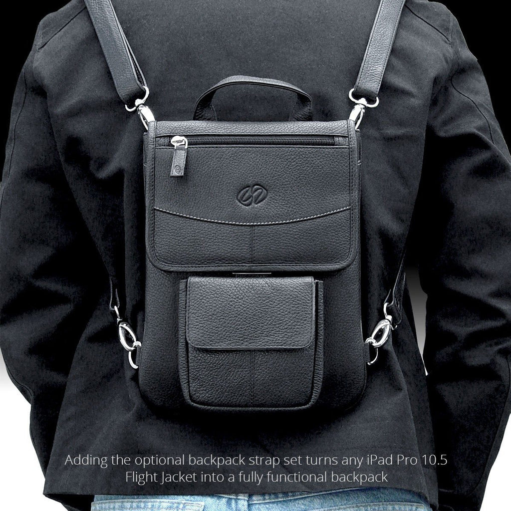 MacCase Flight Jacket can be converted to a leather iPad Pro 10.5 backpack