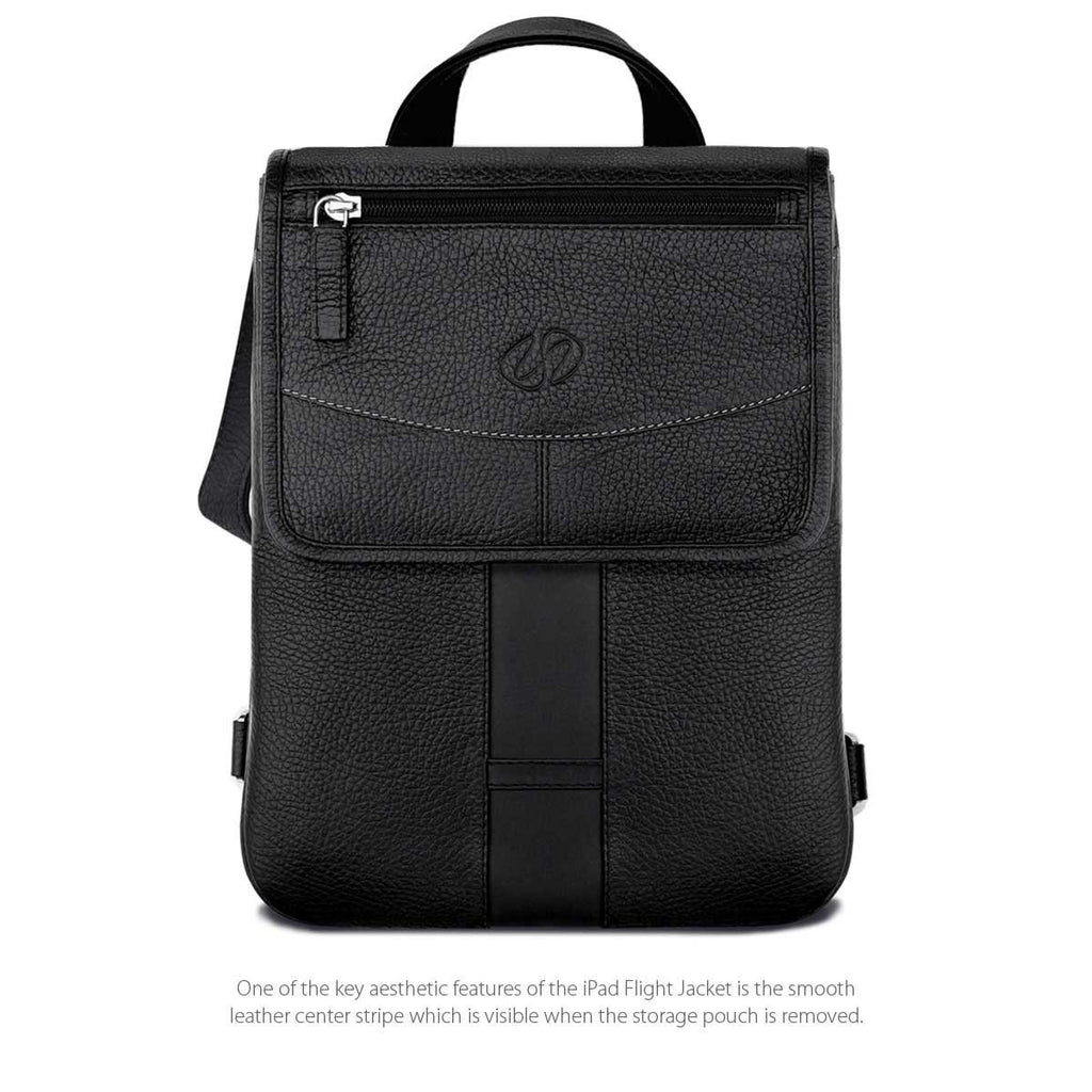 Front View of the MacCase Premium Leather 10.5 iPad Pro cases - Flight Jacket