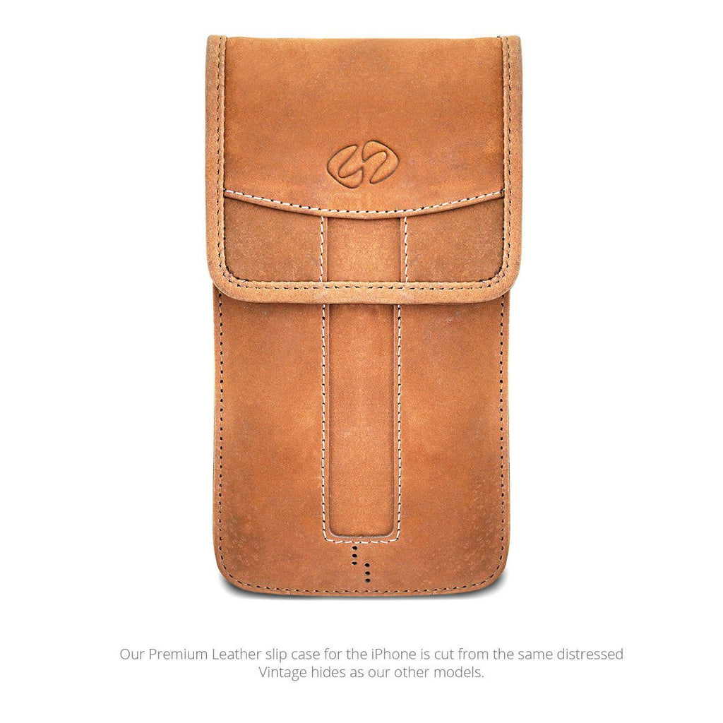 MacCase leather iPhone Slipcase