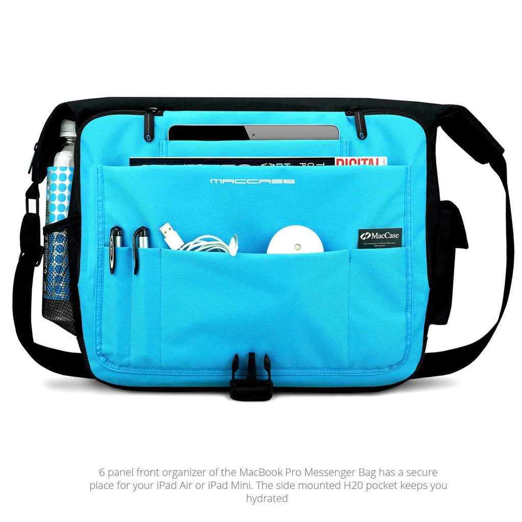 Front view of the MacCase MacBook Pro Messenger Bags