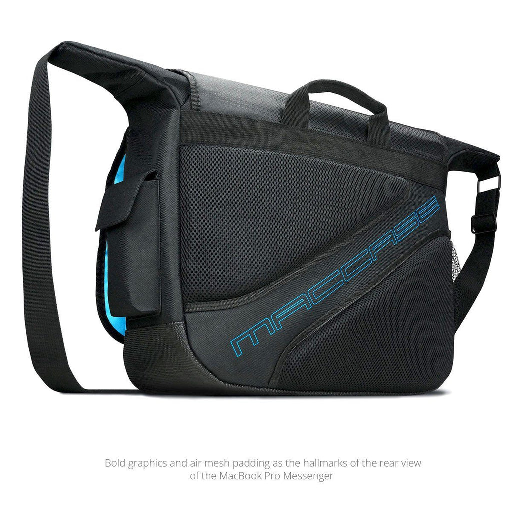rear view of the MacCase MacBook Pro Messenger Bags