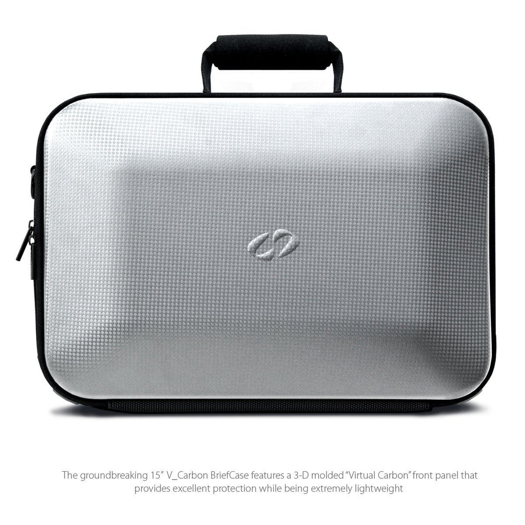 Front View of the MacCase V Carbon MacBook Pro Cases apple laptop cases