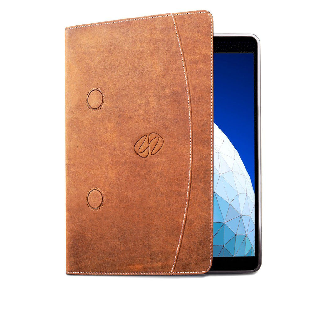 Swatch-Vintage MacCase Premium Leather iPad Air 10.5 Case in Vintage