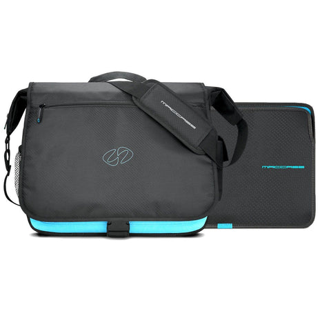 Front view of the worlds best iPad Pro 12.9 Messenger Bag by MacCase