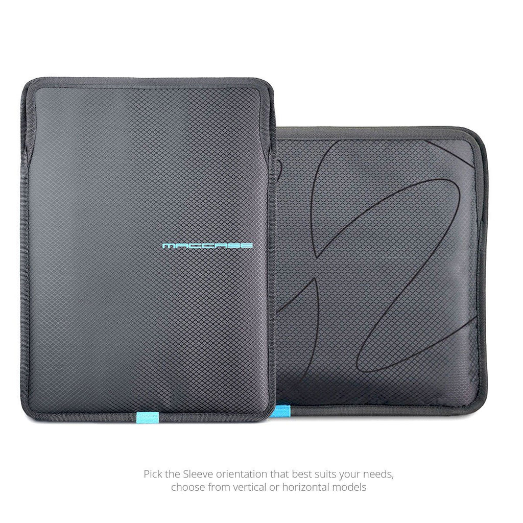 iPad Pro 12.9 Sleeve in verticaal or horizontal orientation by MacCase