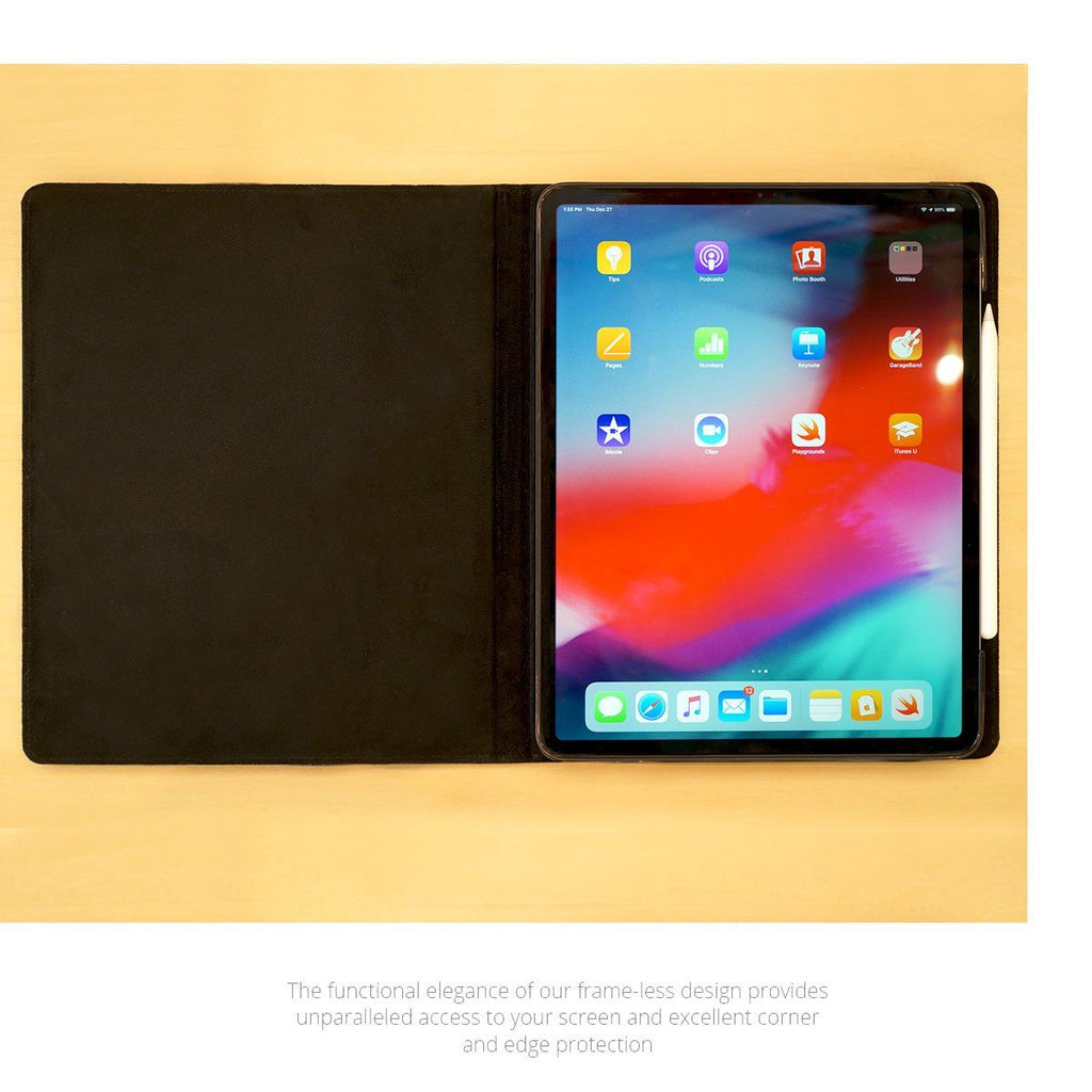 buy popular 0d904 8c89d Premium Leather iPad Pro 11 Case