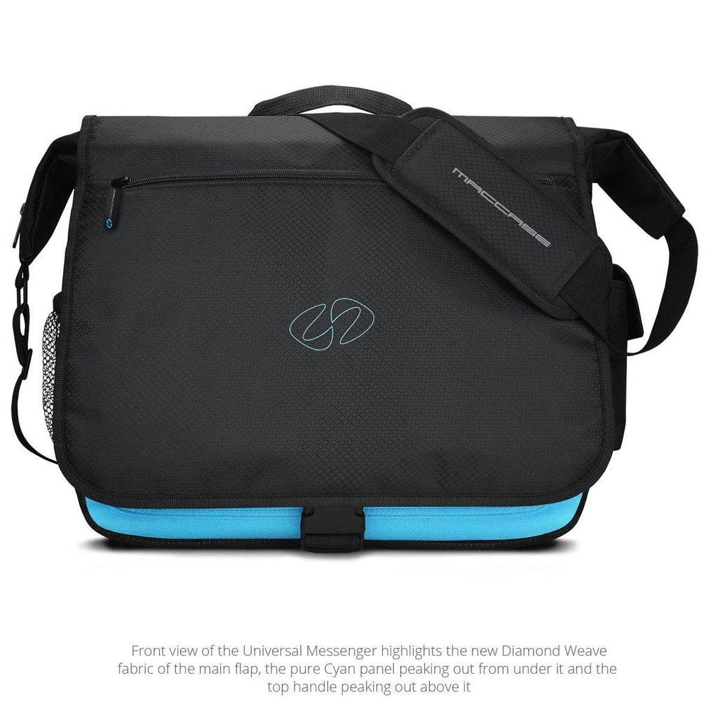 Front View of the MacCase Universal Messenger Bags laptop cases shoulder bags