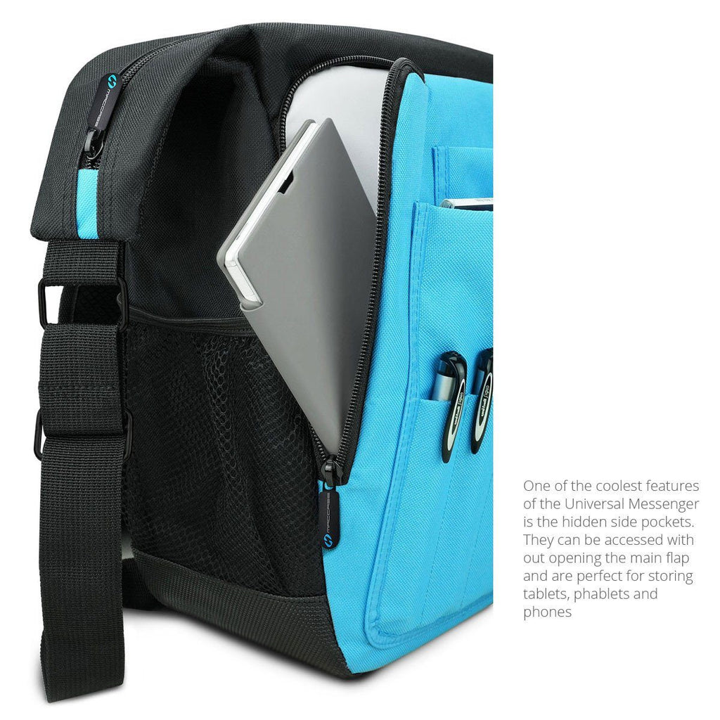 Secret side pocket in the Universal Messenger Bags by MacCase