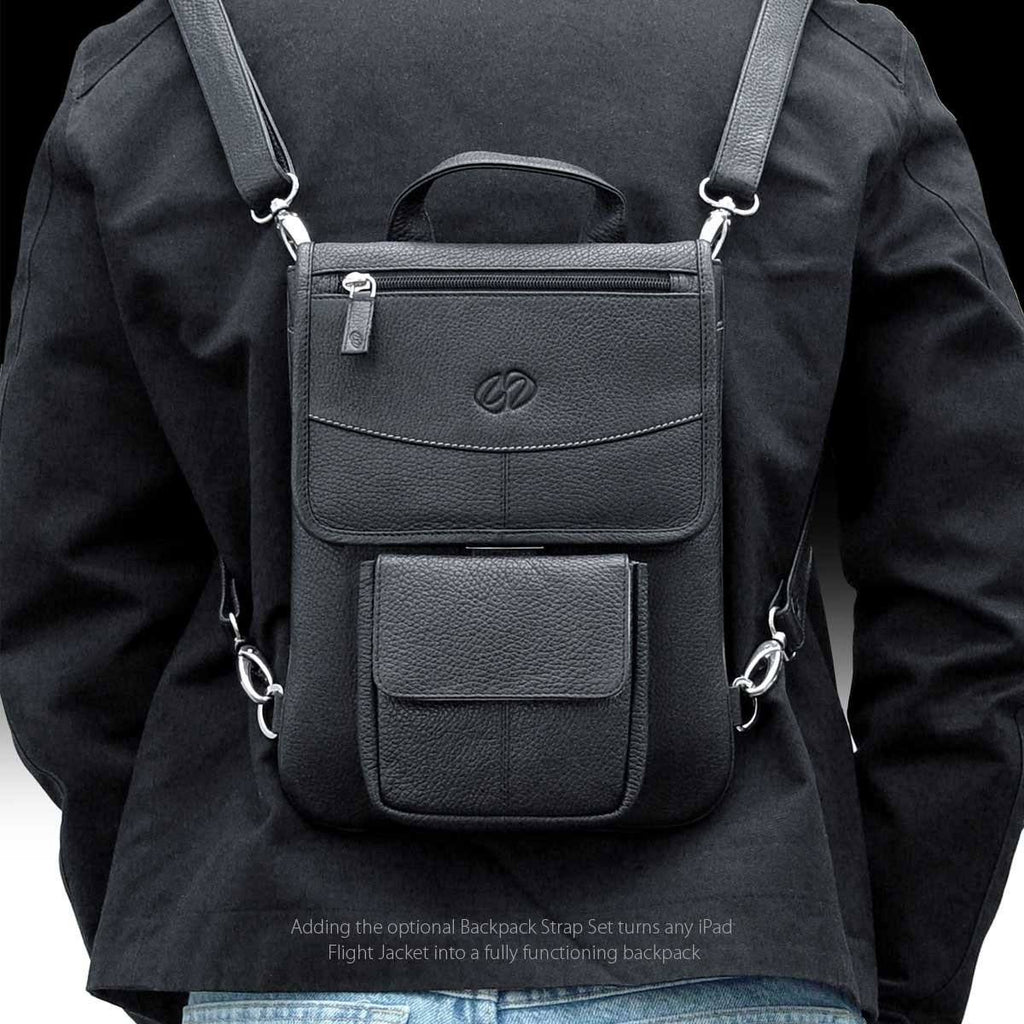 The MacCase Leather iPad 9.7 Backpack