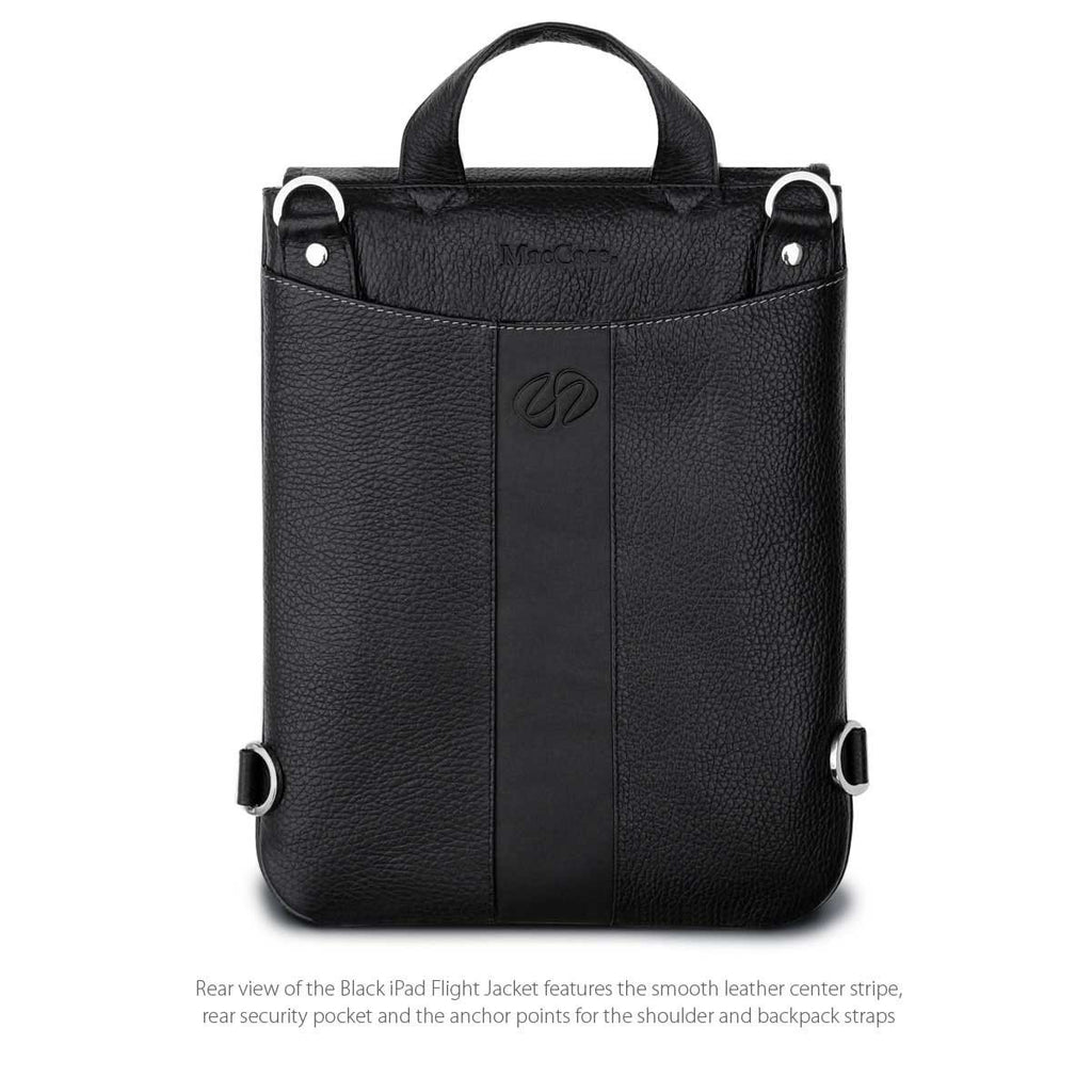 Rear View of the MacCase Leather iPad cases bundle