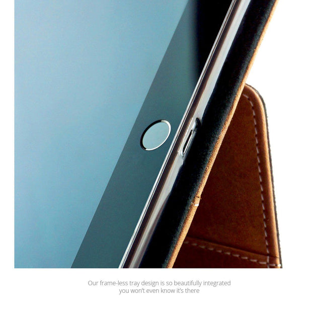 Premium Leather iPad Pro Case Compatible with Smart Keyboard 1
