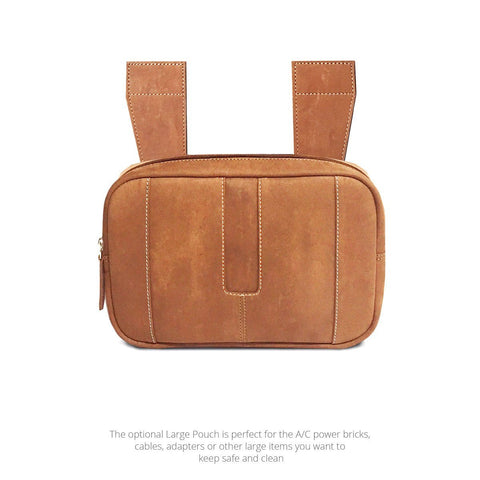 Premium Leather Large Pouch