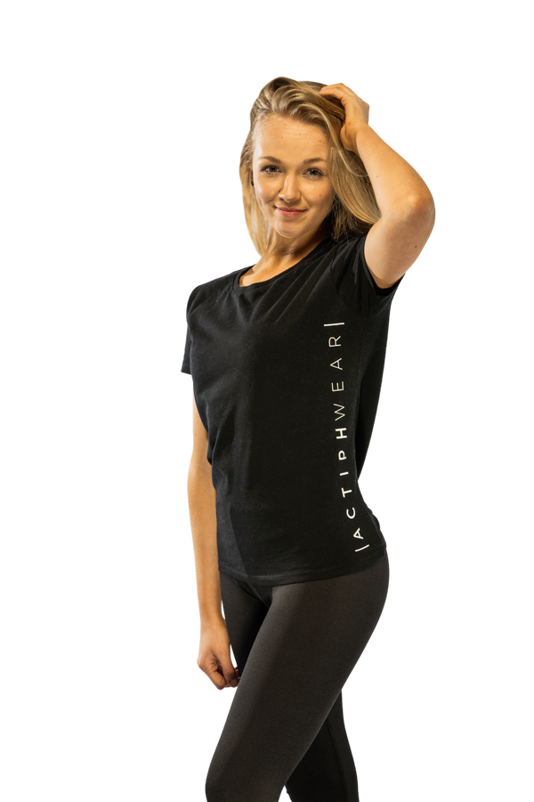 ActiphWear Women's T-Shirt - Black