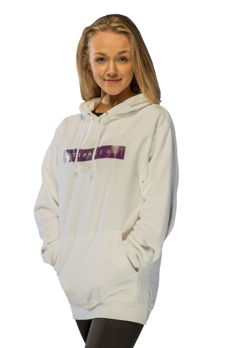 ActiphWear Unisex Hoody - White or Grey